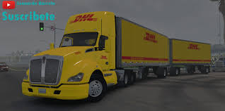 Skin DHL For T680 Double For ATS - ATS Mod | American Truck ... Dhl Truck Editorial Stock Image Image Of Back Nobody 50192604 Scania Becoming Main Supplier To In Europe Group Diecast Alloy Metal Car Big Container Truck 150 Scale Express Service Fast 75399969 Truck Skin For Daf Xf105 130 Euro Simulator 2 Mods Delivery Dusk Photo Bigstock 164 Model Yellow Iveco Cargo Parked Yellow Delivery Shipping Side Angle Frankfurt