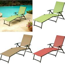 Lounger Outdoor Folding Chaise Lounge Chair Patio Plastic Pool Deck Chairs