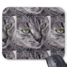 tapis de souris chat tigré personnalisés zazzle ca