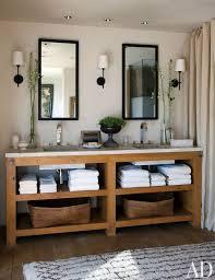 A Contemporary Master Bathroom By Hallberg Wiseley Designers In Malibu