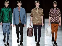 The Bold Bright Colors And Patterns Take New Forms With Latest Summer Mens Fashions From Dsquared2 Brings Back Everything Retro Wave Punk To