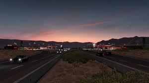 100 Truck Stops In California American Simulator