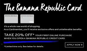 Banana Republic Credit Cards & Rewards Program - Worth It ... Athleta Promo Codes November 2019 Findercom 50 Off Bana Republic And 40 Br Factory With Email Code Sport Chek Coupon April Current Thrive Market Expired Egifter 110 In Home Depot Egiftcards For 100 Republic Outlet Canada Pregnancy Test 60 Sale Items Minimal Exclusions At Canada To Save More Gap Uae Promo Code Up Off Coupon Codes Discount Va Marine Science Museum Coupons Blooming Bulb Catch Of The Day Free Shipping 2018 How 30 Off Coupons Money Saver 70