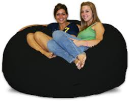 Add Large Black Bean Bag Chairs To Any Room
