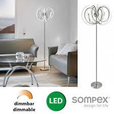 details zu stehle led design stehleuchte dimmbar modern beleuchtung wohnzimmer le