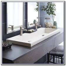 ikea braviken double faucet trough sink sink and faucets home