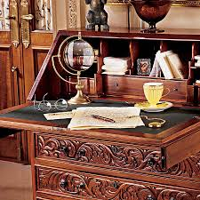 Drop Front Writing Desk by More Features Added For Modern Writing Desk Herpowerhustle Com