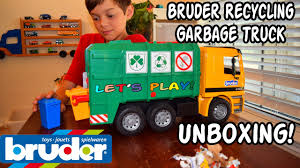 GARBAGE TRUCK Videos For CHILDREN L Bruder RECYCLING TRUCK 4143 ... Kids Truck Video Dump Youtube Grand Theft Auto V Mission 39 Trash Garbage Trucks Teaching Colors Learning Basic Colours For Videos Children Crush Stuff Compilation Of Blippi Toys And More My 2016 Adventure 32 Garbage Truck For L Bruder To The Vacuum 45 Minutes Playtime Pick Up