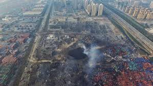 Huge Explosion Rocks Chinese Port City Of Tianjin