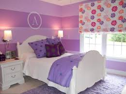 ABOVE And BELOW The Design A Bed Shabby Princess In Pure White Finish Is Transformed With Lilac Purple For Look That Still Has Very