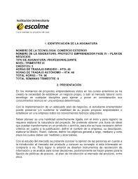 Calaméo Carta Descriptiva Proyecto Emprendedor IV