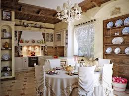 Rustic Country Dining Room Ideas by Interior Lovely Country Kitchen And Dining Room Design Ideas By
