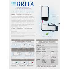 Culligan Water Filter Faucet Leaking by 100 Brita Faucet Mount Leaking Brita On Tap Faucet Water