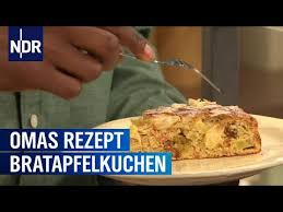 gesunder kuchen mit bratäpfeln dinkel und hirse rezept ndr