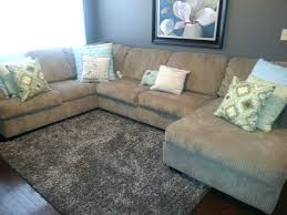 Gray Rug Tar 3 Piece Sectional From Big Lots Gray Shag Area Rug