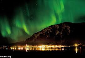 Northern Lights Juneau Alaska – Image 2612Mark Kelley