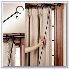 Amazon Double Curtain Rods by Wrap Around Double Curtain Rod Curtains Home Design Ideas