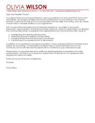 Cover Letter For Front Desk Officer by Best Staff Accountant Cover Letter Examples Livecareer