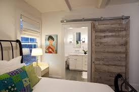 barn door design bedroom farmhouse with wall art multicolored shade