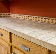 kitchen how to clean ceramic tile countertops diy houzz tiled