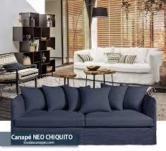 canape neo chiquito canapé bleu 20 modèles pour vous inspirer et décorer votre salon