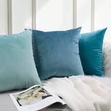 26 farben kissenbezug samt kissen abdeckung für wohnzimmer sofa kissen set einfarbig kissenbezug kissen abdeckung kissen abdeckung