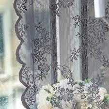 schöne spitze fenster moskitonetz vorhang tüll transparent voile vorhänge fenstervorhang 180x145cm lxb kräuselband moderne gardinen scheibengardinen