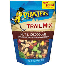 Planters Trail Mix Nuts and Chocolate 6 oz — Pijeo