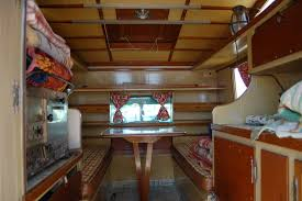 Spectacular Nautical Inspired Interior Woodwork On A Unique Camper Th Ebaqck Of 1960 International