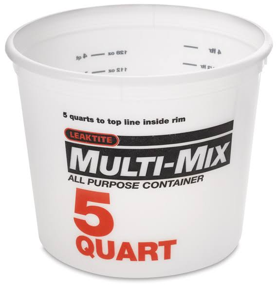 Leaktite Mixing And Storage Container - 5qt