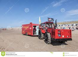 Snack Truck On The Beach In Netherlands Editorial Stock Photo ...