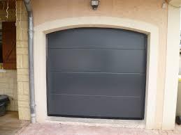 porte de garage en kit standard blanche et grise