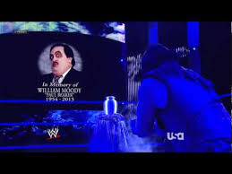 The Undertaker In memory of William Moody Paul Bearer