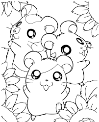 Hamster Coloring Pages 20 Cute