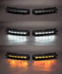 drive bright ford taurus led drl kit standard black with