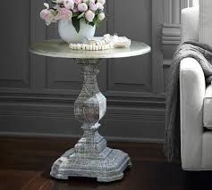 Silvia Pedestal Side Table