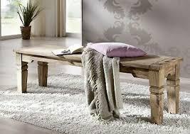 leeds 55 bank sitzbank holzbank wohnzimmer massivholz