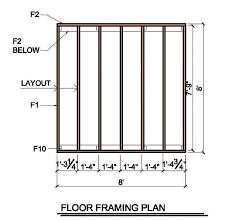 8 8 lean to shed plans u0026 blueprints for garden shed