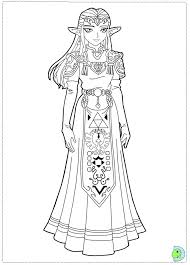 Best Zelda Coloring Pages 63 With Additional Free Colouring