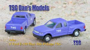 98 N Scale Trucks Atlas Pickup Dans Models YouTube