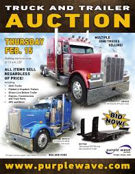 100 Semi Trucks For Sale In Kansas Truck And Trailer Auction In Russell By Purple Wave Auction