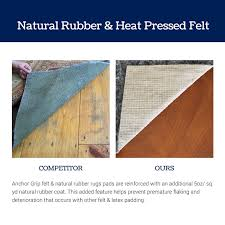 Rug Pads For Hardwood Floors Amazon by Amazon Com 9x12 Anchor Grip 22 Premium Non Slip Rug Pad Felt