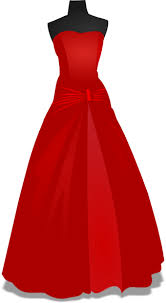 Bridesmaid Dress Cliparts