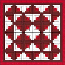 Log Cabin Quilt is e of the Easiest Quilt Blocks to Construct