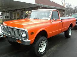 67-72 Chevy Truck, The Epitome Of Classic Cool, Wagon Wheels And All ...