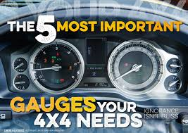 THE 5 MOST IMPORTANT GAUGES YOUR 4X4 NEEDS - Unsealed 4X4 Isspro Evm Diesel Tachometer Gauge 2 116 In 05000 Rpm 0304 Replacement Custom Black Duramax Blue Led Cluster Gm Truck Speedometer Repair And Sales Egt Digital Pmd1xt Pyrometer Probe Kit Race Series Df Saas Face Boost Exhaust Temperature 52mm Analog Performance Gauges Page Dodge Resource Coreys 3in1 Combination Gas Fuel Monitors Data Loggers For Your Basic Traing Buying A Used Everything You Need To Know Drivgline Frankenford 1960 Ford F100 With Caterpillar Engine Swap Cheap Oil Level Find Deals On Line At Alibacom Pillar Cummins Best Of Bud Mods 89 93