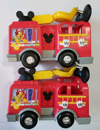 DISNEY MICKEY MOUSE Clubhouse Lot Of 2 Fire Truck Engines W/ Sounds ... Sun Rubber Donald Duck Toy Car And Mickey Mouse Fire Truck Tomica Disney Motors Dm17 Fire Truck Provisional Modern Toys Japan Engine Large Antique 1930s Sunruco Viceroy Mickey Mouse Fire Truck Disney Friends Crazy Australian Online Store Matchbox Walt Wd1 Mouses Engine Diecast Tomica Works Div Clubhouse Station Unboxing Review Dm11 Buy Knibocker Preschool Push Pull Similar Items Club House