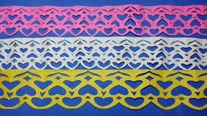 Paper Cutting DesignsHow To Make Border Designs Step By StepPaper