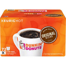 Dunkin Donuts Coffee Medium 72 K Cup Pods
