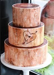 Whipped Bakeshop Philadelphia Woodsy Wedding Cake